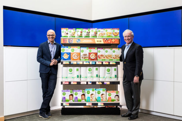 Microsoft teams up with Kroger to pilot two connected experience stores