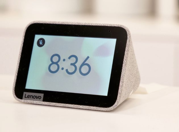 CES 2019: Lenovo Smart Clock With Google Assistant Unveiled at Trade Show