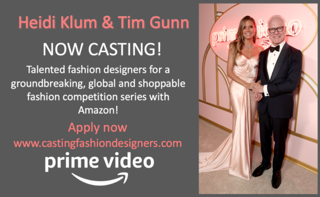 Can You Dress For Success Heidi Klum And Tim Gunn Seek Designers For Amazon Fashion Series Geekwire