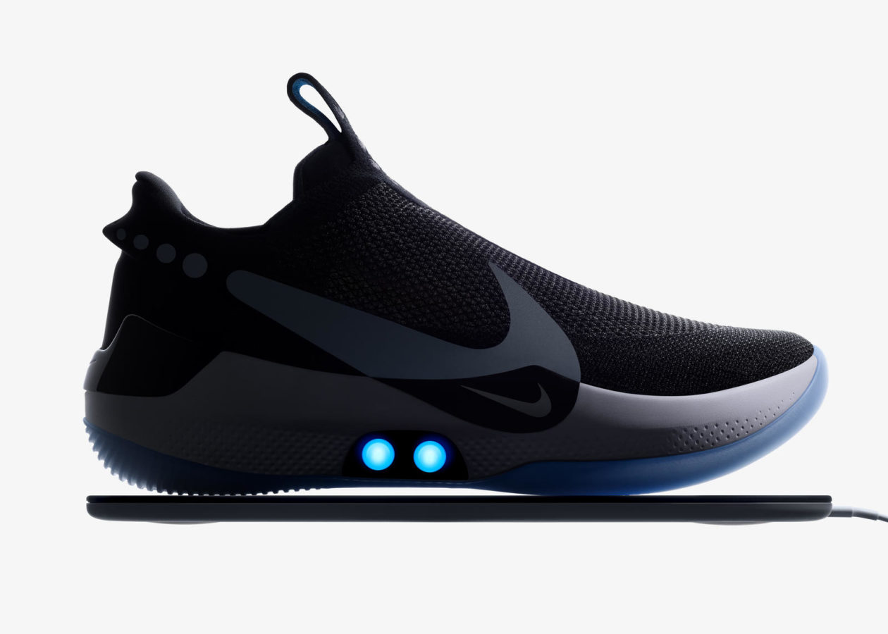 0738d69c72e61f Nike unveils new self-lacing basketball shoes controlled by a smartphone app
