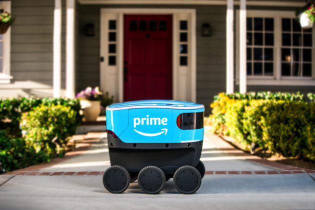 Amazon Is Testing Its Cutie-Pie Delivery Robot, Scout