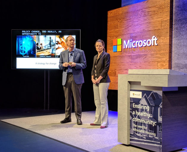 Microsoft's Brad Smith on $500M housing pledge: 'We want our success to support the region'