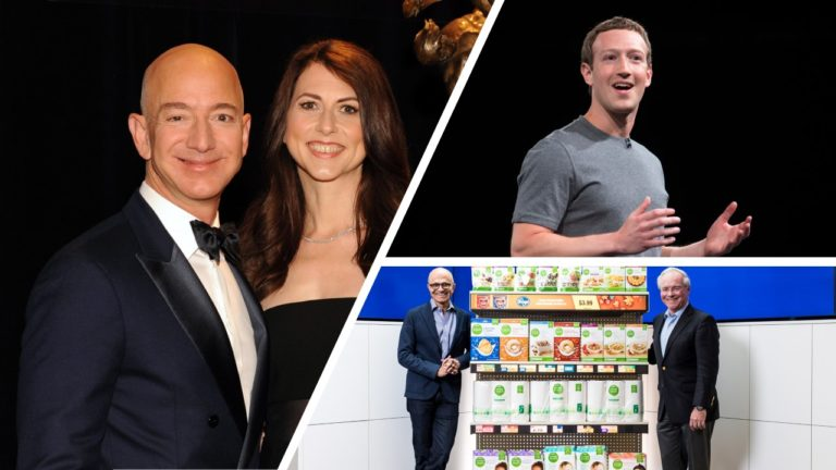 Bezos divorce highlights hidden challenge for company founders