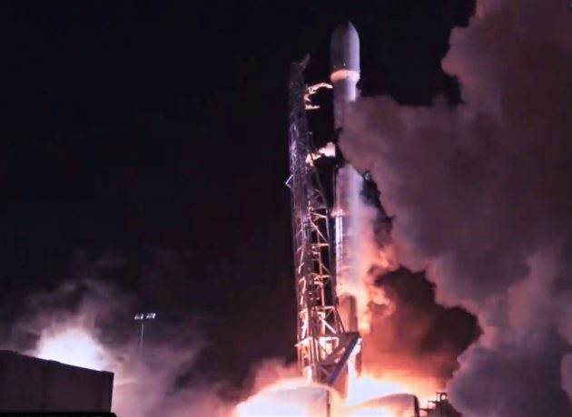 Elon Musk's SpaceX launches second rocket of the year with three payloads