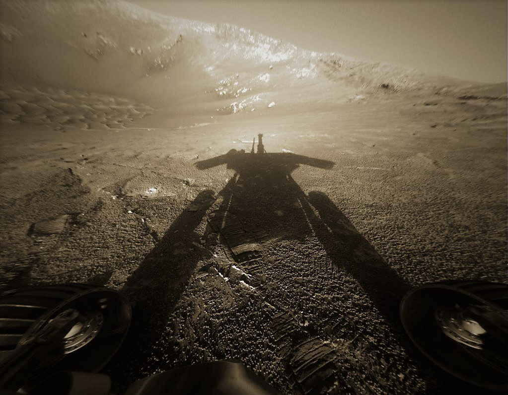 nasa sings requiem to opportunity rover on mars and looks
