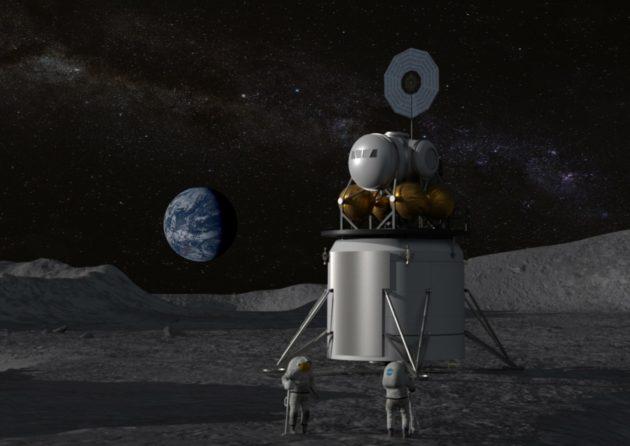 Descent module with ascent module