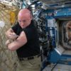 Scott Kelly flu shot
