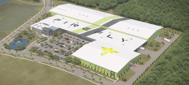 Firefly rocket factory