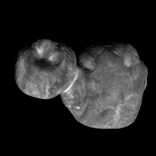 NASA New Horizons spacecraft beams back its sharpest views of Ultima Thule
