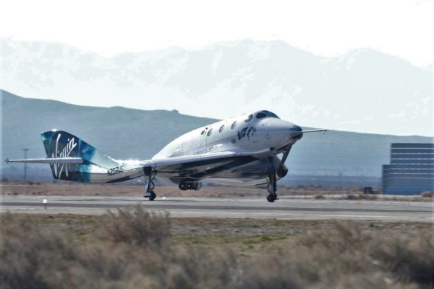 Virgin Galactic flies a surprise passenger to suborbital space