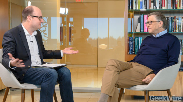 Full interview: Bill Gates on climate change, Paul Allen, nationalism and, of course, hamburgers