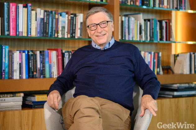 Bill Gates won't commit to supporting Warren over Trump