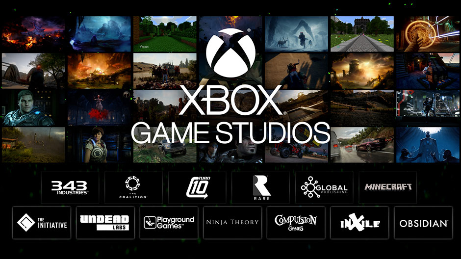 microsoft studios becomes xbox game studios  reflecting