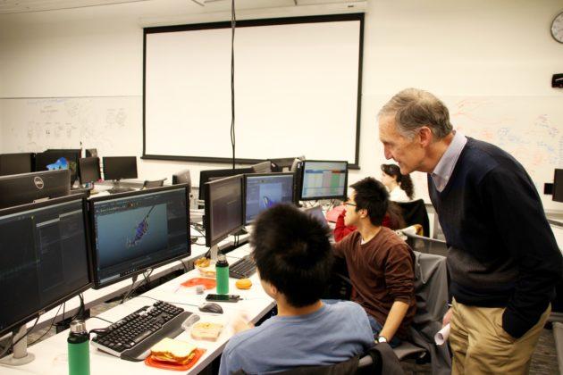 Univ  of Washington opens new computer science building