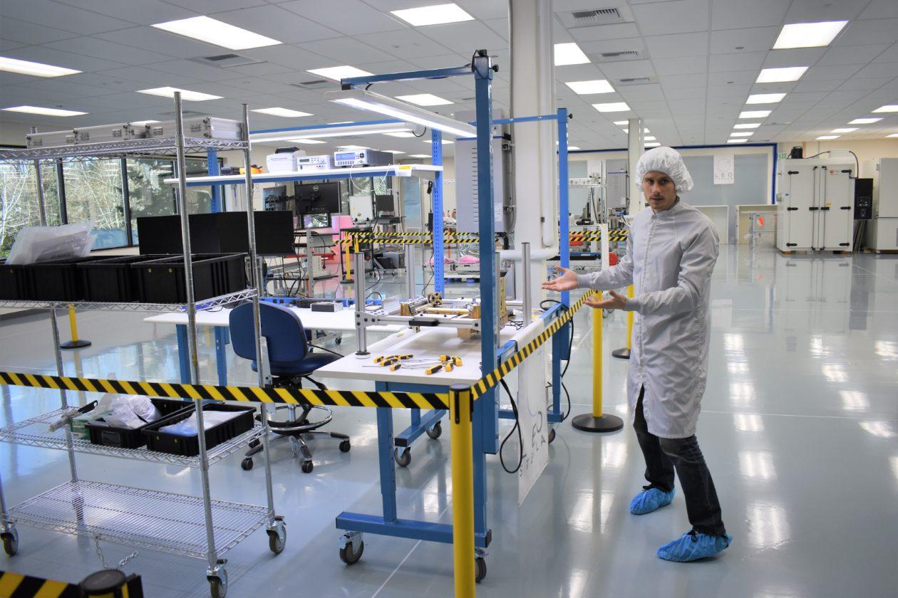 Satellite factory