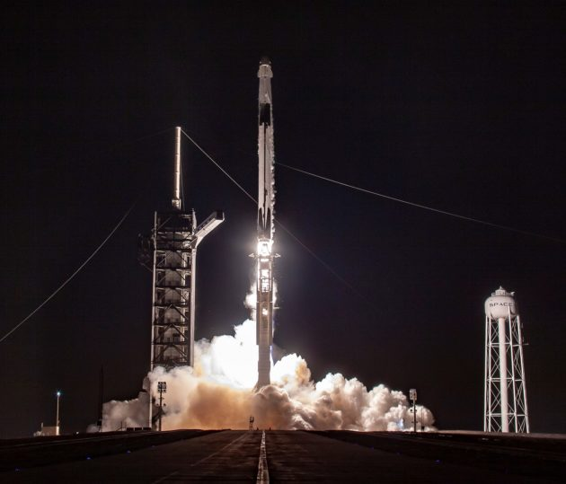 SpaceX Falcon 9 Crew Dragon launch
