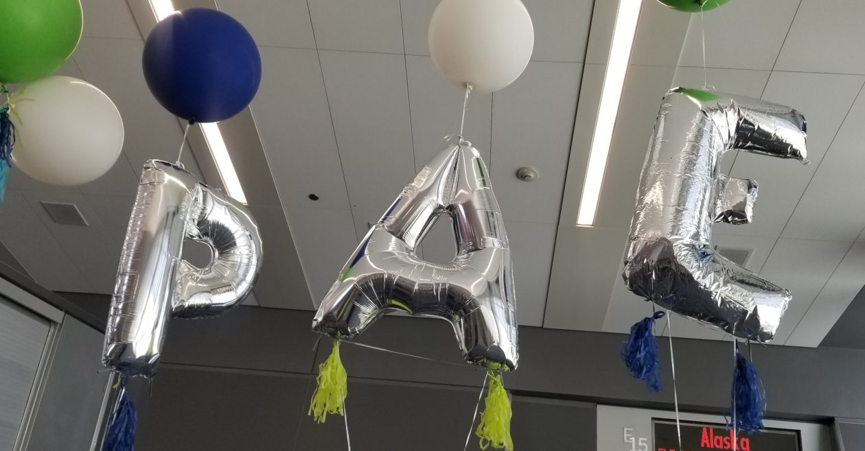 PAE balloons