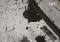 Hayabusa 2 probe at Ryugu