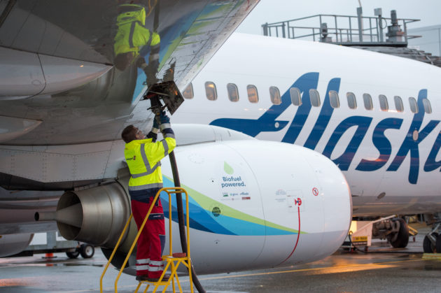 Biofuel for Alaska Airlines