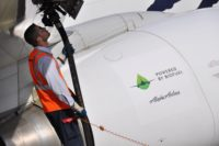 Biofuel-powered jet