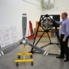 MagniX CEO with motor