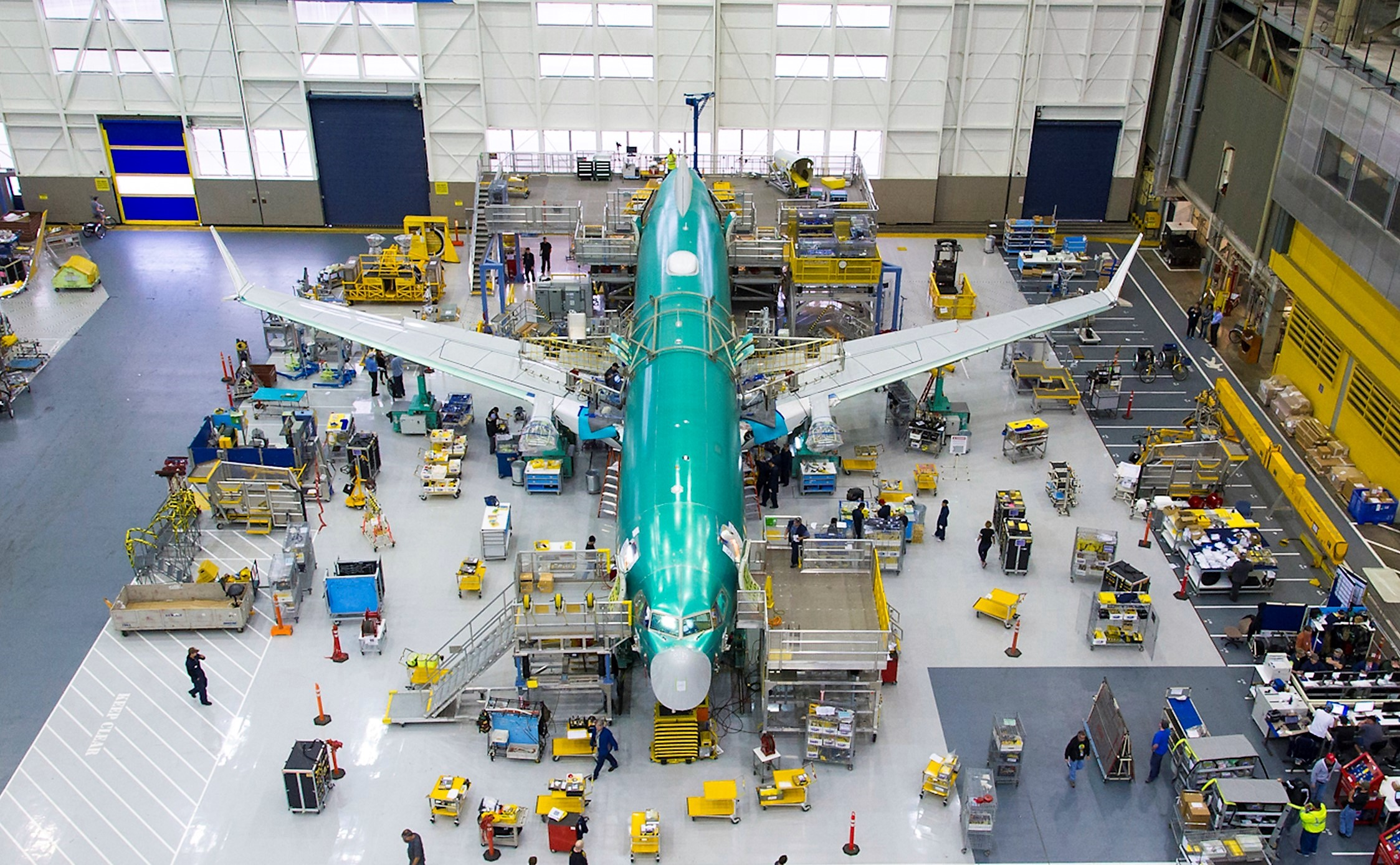 Boeing resumes low-rate 737 MAX jet production with...
