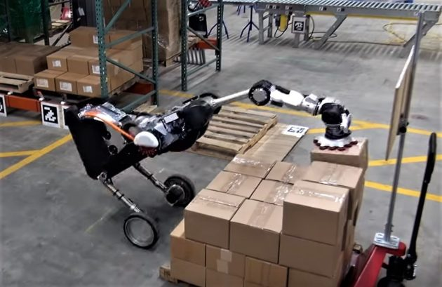 Boston Dynamics8217 Robotic Ostrich Can 8216handle8217 Warehouse Box Stacking Tasks