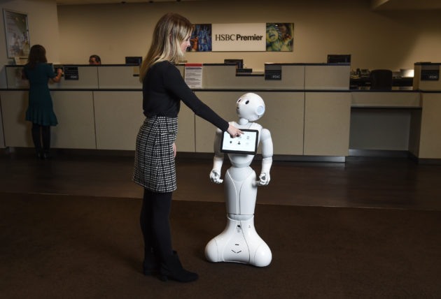 Can a robot spice up the retail banking experience? HSBC's
