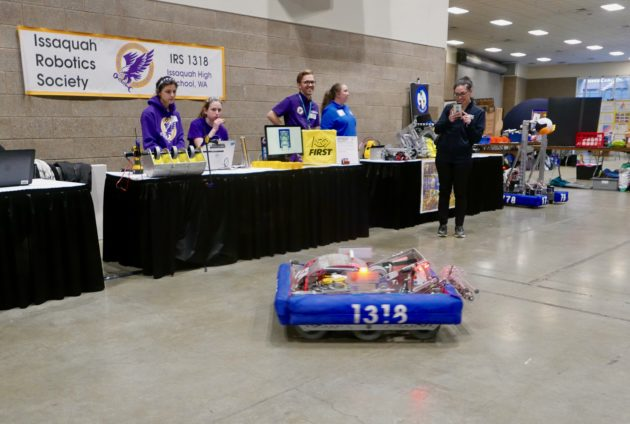 The hardest fun': A high school robotics competitor shares why it's