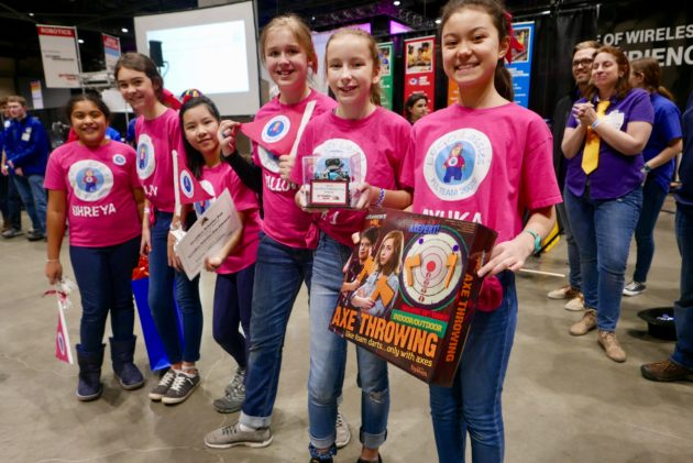LEGO Lassies, a team of girls from Seattle suburb, ride