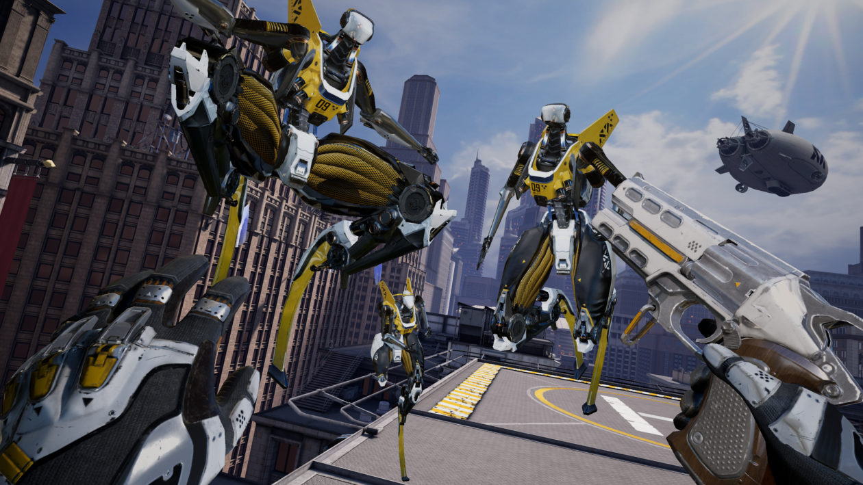 How a Seattle VR studio helped bring Epic Games' 'Robo Recall' to