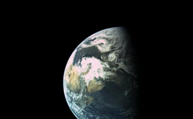 Beresheet view of Earth