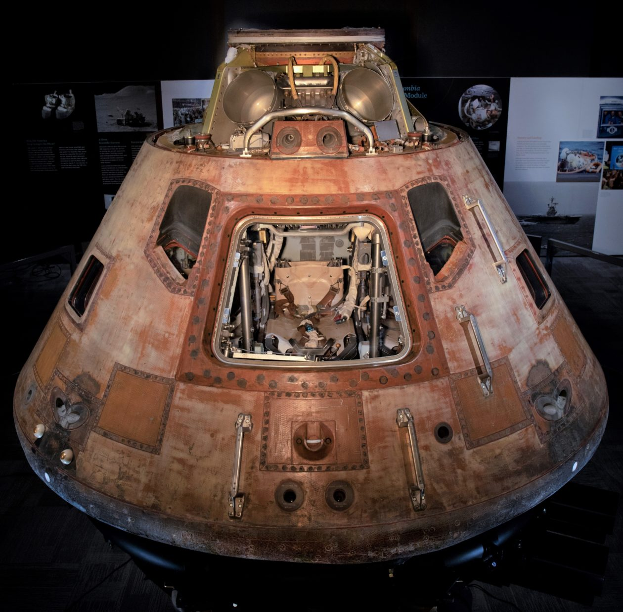 Apollo eleven command module
