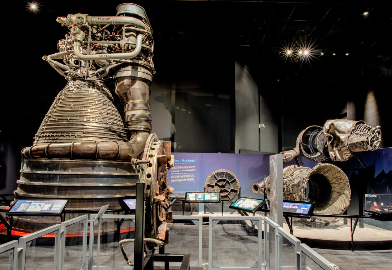 F-1 rocket engine and components