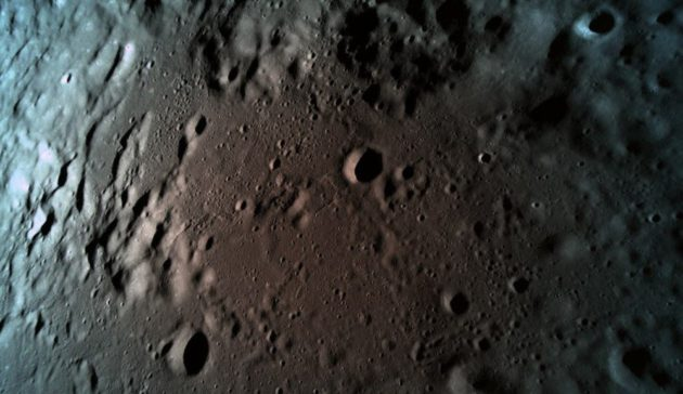 Beresheet moon picture