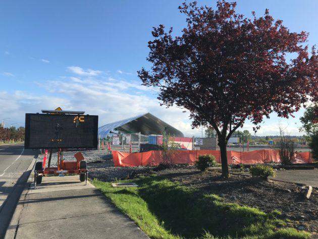 Blue Origin construction site