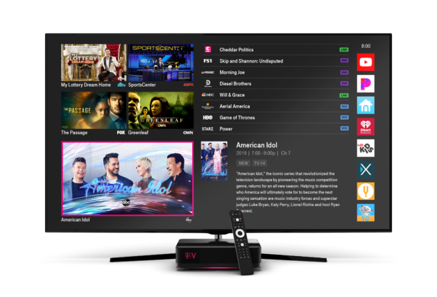 Mobile Starts Rollout Of $100-A-Month Pay-TV Package TVision Home