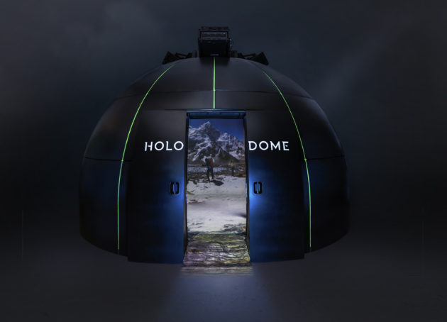 The talk of TED? Paul Allen's Holodome brings immersive reality to conference in Vancouver