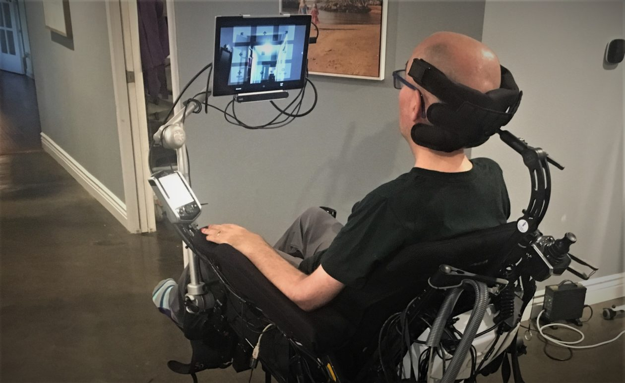 Ex Nfl Player Steve Gleason Launches Eye Controlled