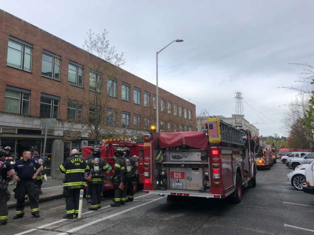Google Seattle building loses power as 'blown breaker' prompts large emergency response