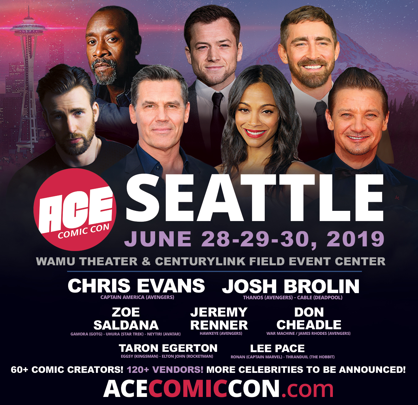 ACE Comic Con Seattle – GeekWire Events Calendar