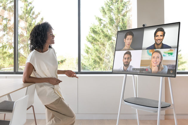 Microsoft announces slimmer and lighter Surface Hub 2S