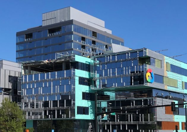 Deadly crane incident at future Google Cloud campus in