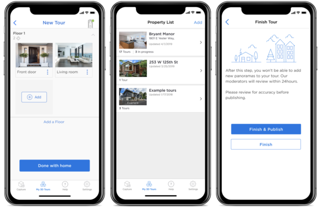 UI and UX for real estate app