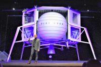 Bezos and Blue Moon lander