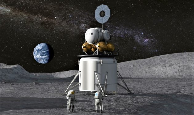 Budget boost 'good start' to put astronauts on moon