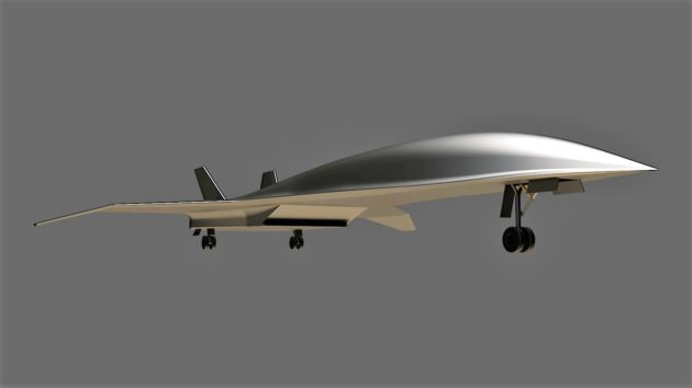 Hermeus concept for hypersonic plane