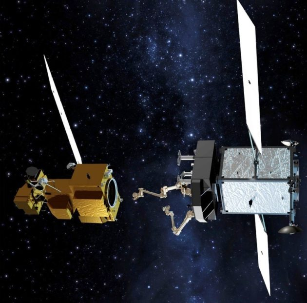 Satellite servicing