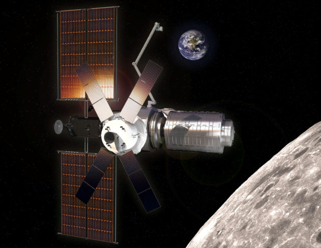 NASA says Maxar will build the first big piece for Gateway space outpost in lunar orbit