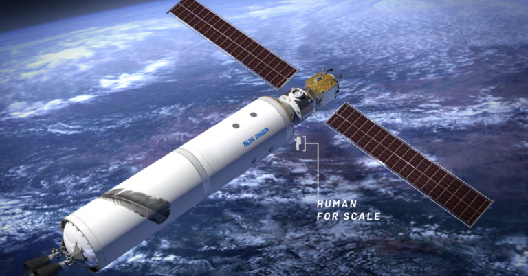NASA picks Northrop Grumman to build moon-orbiting habitat